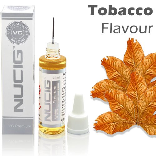 NUCIG® TOBACCO Flavour LARGE 20ml Eliquid ★ Exclusive for sale  Delivered anywhere in UK