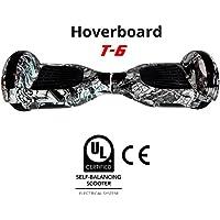 BC Babycoches - Patinete eléctrico hoverboard monopatin autoequilibrio TecnoBoards T6, Ruedas 6,5 pulgadas, versión graffiti