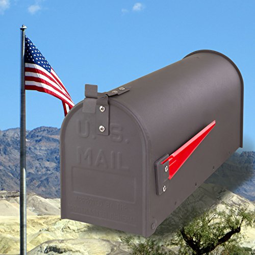 DEMA American Mailbox aus Stahl, Anthrazit - 6