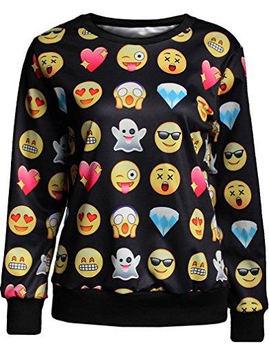 TDOLAH galaxy sweatshirts damen pullover langarmshirts (Flash Neue Kostüm)