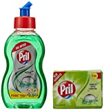 #6: Pril Dish Washing Liquid - 225 ml and Free Prill Dishwash Bar (Worth Rupeess 10)