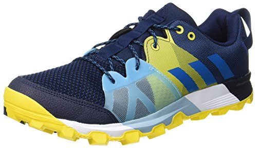 adidas Men's Kanadia 8.1 Tr Trail Running Shoes, Blue (Collegiate Navy/Mystery Petrol/Eqt...