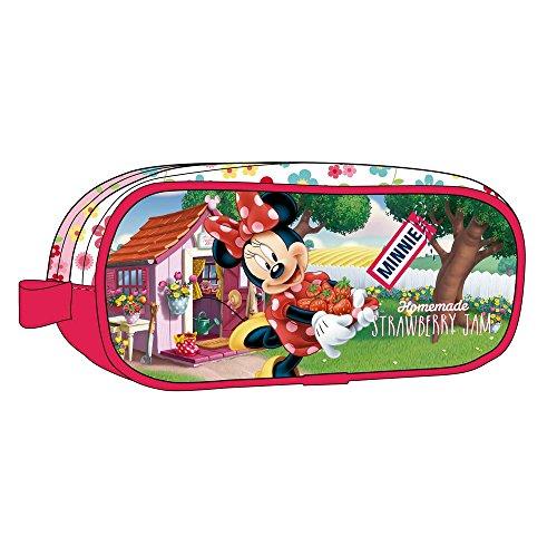 Walt Disney-Trousse 2 compartiments Strawberry Minnie