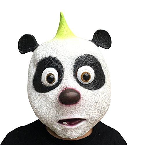 de und der kleine Maulwurf Cartoon Maske mask aus sehr hochwertigen Latex Material mit Öffnungen an Augen Halloween Karneval Fasching Kostüm Verkleidung für Erwachsene Männer und Frauen Damen Herren gruselig Grusel Zombie Monster Dämon Horror Party (Cartoon Kostüme Für Frauen)