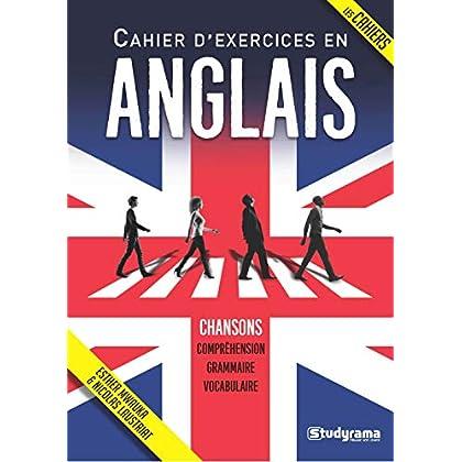 Cahier d'exercices en anglais