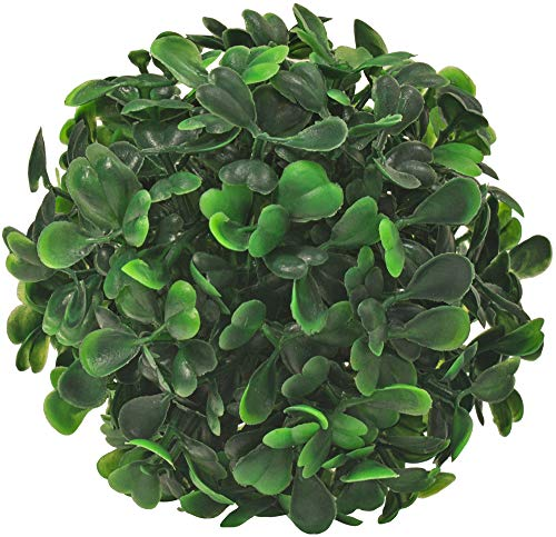 Decovego Buchsbaum Kugel Künstliche Pflanze Buxus Deko Innen und Aussen 8-55 cm Durchmesser, Durchmesser:8 cm