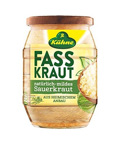 Kühne Fasskraut natürlich-mildes Sauerkraut, 400g