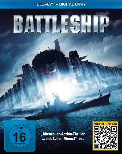 Battleship (Steelbook) [Blu-ray] [Limited Edition] (Brooklyn Popcorn)