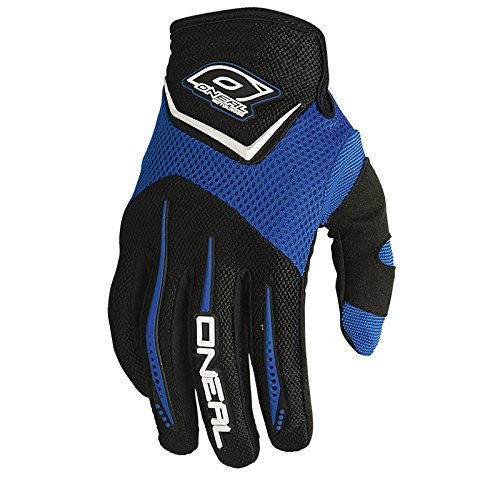 O'Neal Element Kinder Handschuhe Schwarz Blau Moto Cross Mountain Bike Downhill Motorrad Glove, 0399K-0, Größe Small (Kinder Bike Blau)