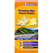 Michelin Regional, 527: Provence-Alpes-Côte d'Azur = Provence-Alps-French Riviera.