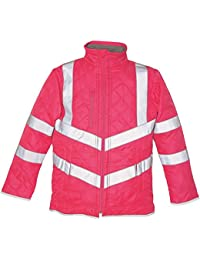 Yoko Hi-Vis Kensington Fleece Lined Jacket (Hvw706)