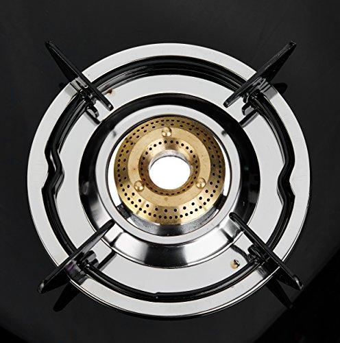 Pigeon Favourite 3 Burner Black Line Cook Top stove, Black