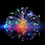Best Outdoor String Lights - Dripping Colors Multi Color Led String Lights,Usb, 5M Review