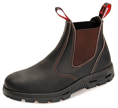 Redback BUBOK Offroad Chelsea Boots - Arbeitsschuhe Work Boots Aus Australien - Unisex - Claret...