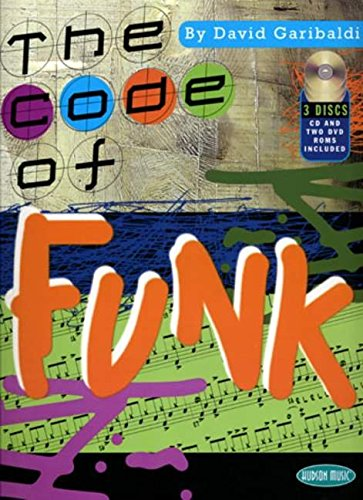 David Garibaldi The Code Of Funk Drums Bk/Cd/Dvd.