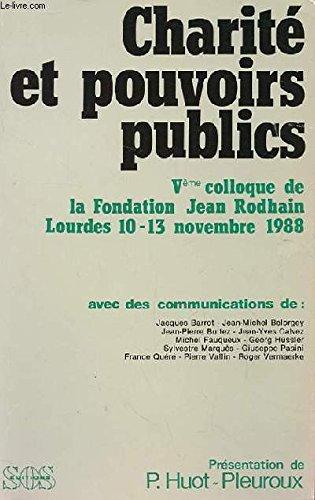 Charité et pouvoirs publics