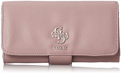 Guess Damen Slg Wallet Geldbörse, Pink, 2x10x20 centimeters (Guess Portemonnaie)