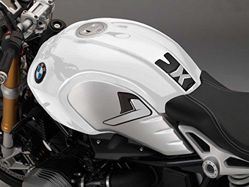 uniracing 46028Tank Pad BMW Neun T 14-18Schwarz & Grau, Schwarz & Grau -
