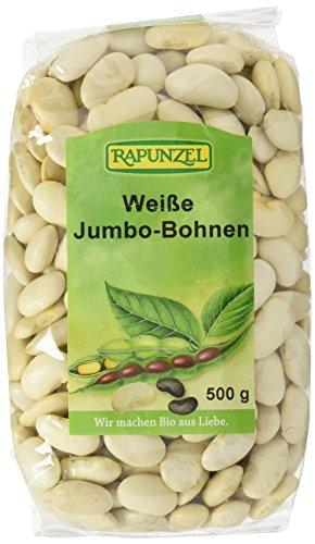 Rapunzel Jumbo-Bohnen, weiß, 2er Pack (2 x 500 g) - Bio