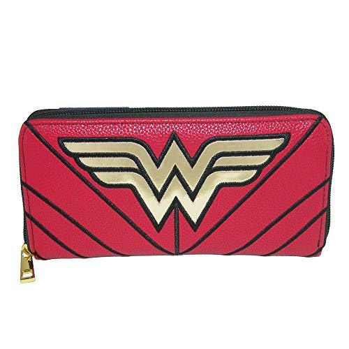 Officiellement sous licence DC Comics Wonder Woman embrayage Zip autour de sac à main