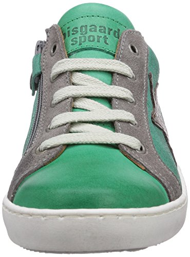 Bisgaard Shoe with laces Unisex-Kinder Sneakers Grün (34 Forest)
