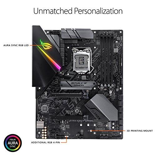 ASUS ROG STRIX B360-F GAMING LGA1151 (300 Series) DDR4 DP HDMI DVI M.2 ATX Motherboard