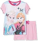 Disney Frozen, Pigiama Bambina, Rosa, 98 (Taglia produttore:3 Anni)