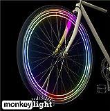 MonkeyLectric Erwachsene 40 Lumen Speichenlicht Monkey Light, Mehrfarbig, One Size