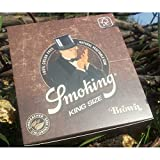 Smoking 012008.01 Cartine King Size Marrone, Carta