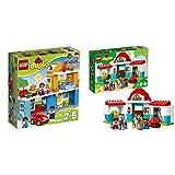 LEGO Duplo 10835 - Familienhaus, Spielzeug für drei Jährige &  Duplo 10868 - Pferdestall, Spielzeug für das Kindergartenalter