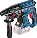 Bosch Professional Cordless Rotary Hammer GBH 18V-20 (Battery Not Included, 18 V, Maximum Drilling Diameter in Concrete: 20 mm, Cardboard Box)