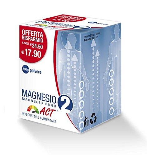 Magnesio 2 ACT Magnesio puro 300g