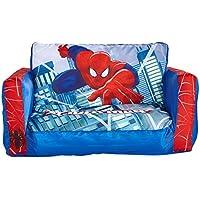 Spider-Man - Ausziehbares Minisofa – Aufblasbares Sofa und Liegestuhl (2-in-1) preisvergleich bei kinderzimmerdekopreise.eu