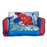 Spider-Man - Ausziehbares Minisofa – Aufblasbares Sofa und Liegestuhl (2-in-1)