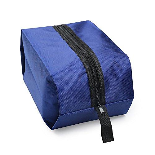 Borsa per Scarpe per Casa e Viaggio con Materiale Impermeabile (Blu) f8f9a3f9747
