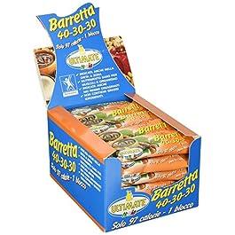 Ultimate Italia – Barrette 40 30 30 Nocciolinella – Indicata per la dieta a zona – scatola da 30 pz