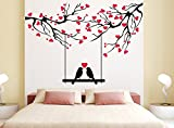 Orange and Orchid Love Bird with red sma...