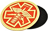 Hazard 4 Abzeichen Paramedic Patch Glow in the Dark/Red, PAT-PMD