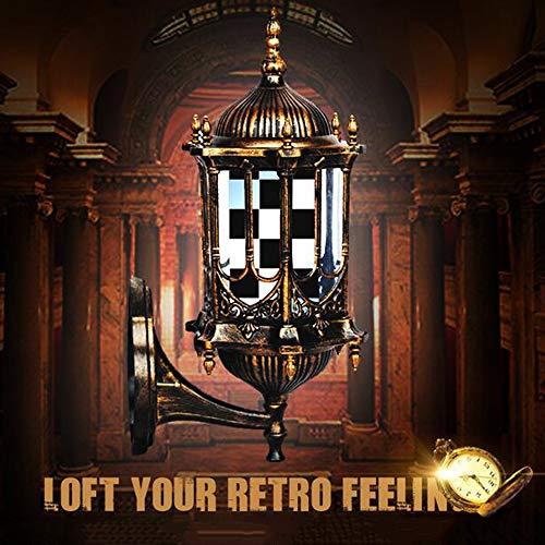LED Poste de Barbero Firmar Pared Montado Lámpara 50CM Blanco Luminoso Giratorio Esclarecedor Luminosa para Peluquería Rayas Impermeable Ligero Cabello Salón Tienda,Impermeable al Aire Libre,D