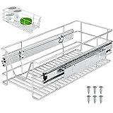 Tiroir télescopique Rangement Armoire Cuisine Réfrigérateur Largeur meuble 30 cm