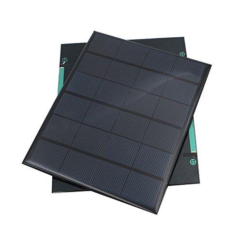XZANTE es una marca registrada. SOLAMENTE el vendedor autorizado de XZANTE puede vender en listados de XZANTE. Nuestros productos mejorarán su hogar y estilo de vida. 6V 3.5W Panel solar portatil Sistema de poder del solr de panel de modulos Mini DIY...