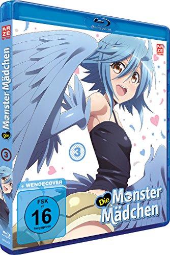 Die Monster Mädchen Vol. 3 – Episoden 7-9 [Blu-ray]