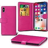 Lapinette Schutzhülle Wallet-Etui für Apple iPhone XS rosa