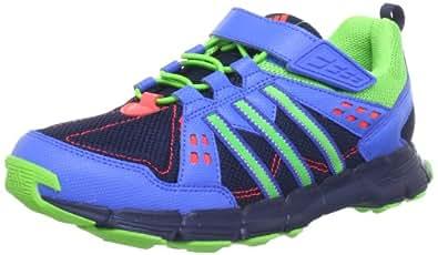 adidas Performance  Trailkid AC K Running Shoes Unisex-Child  Blue Blau (COLLEGIATE NAVY / RAY GREEN F13 / BLAST BLUE F13) Size: 36 2/3