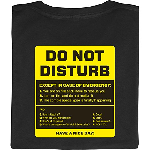 Do-Not-Disturb-Ne-pas-dranger-shirt-geek-fabriqu--partir-de-coton-100-biologique