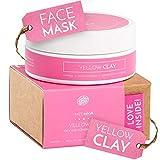 Arcilla amarilla de BodyBoom   máscara/mascarilla para cuerpo y cara   100% natural   purifica   regula el PH de la piel   absorbe el exceso de sebo   piel grasa y mixta   120g   de Siberia