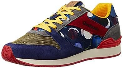 Desigual Men's Drake5 Multicolor Sneakers - 11 UK