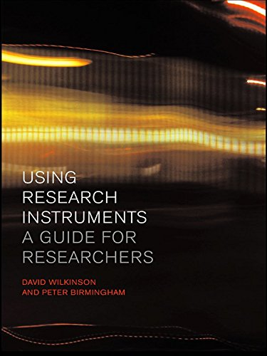 Using Research Instruments: A Guide for Researchers (Routledge Study Guides) (English Edition)