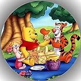 Fondant Tortenaufleger Tortenbild Geburtstag Winnie Pooh P5