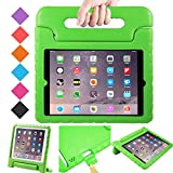 luka Multi Function Child/Shock Proof Kids Cover Case with Stand/Handle for Apple iPad Tablet (IPAD 2/3/4, Green)